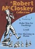 Robert Mccloskey Collection 3 In1 Volume
