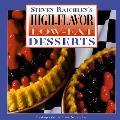 High Flavor Low Fat Desserts