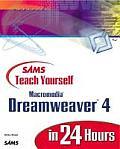 Sams Teach Yourself Macromedia Dreamweaver 4 in 24 Hours (Sams Teach Yourself...in 24 Hours)