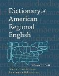 Dictionary of American Regional English Volume 2 D to H