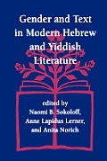 Gender and Text in Modern Hebrew & Yiddish Literature