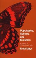 Populations Species & Evolution An Abridgment of Animal Species & Evolution