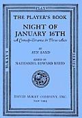 Night Of January Sixteenth