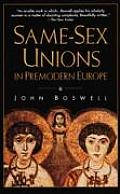 Same Sex Unions In Premodern Europe
