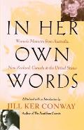 In Her Own Words: Women's Memoirs from Australia, New Zealand, Canada, and the United States