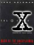X Files Book Of The Unexplained Volume 1