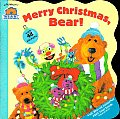 Merry Christmas, Bear! with Sticker (Bear in the Big Blue House)