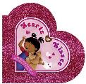 Hearts & Kisses Shaped Board Book