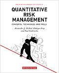 Quantitative Risk Management: Concepts, Techniques and Tools