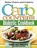 Better Homes & Gardens Carb Counters Diabetic Cookbook