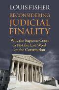 Reconsidering Judicial Finality