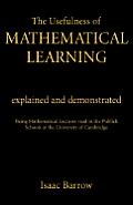 Usefullness of Mathematical CB: Usefulness Me Learning#