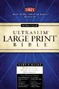 Bible Nkjv Black Large Print Ultraslim
