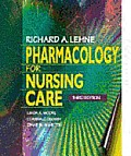 Pharmacology for Nursing Care [With Disk]