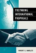 Preparing International Proposals Pub: Angleterre: T.Talford/ London