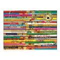 Vintage Pencils 1000 Piece Foil Stamped Puzzle