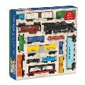 Vintage Toy Trains 300 Piece Puzzle