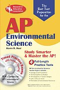 AP Environmental Science W/ CD (Rea) - The Best Test Prep for Advanced Placement with CDROM (REA Test Preps)
