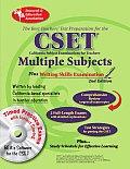 Calif. Cset: Multiple Subjects/Writing W/CD (Rea) (Test Preps)