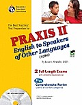PRAXIS II english to speakers of other languages: (0360) test [With CD (Audio)] (REA Test Preps)