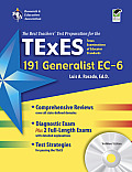 TExES Generalist EC-6 (191): The Best Teachers' Test Prep for the TExES [With CDROM] (REA Test Preps)