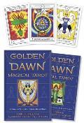 Golden Dawn Magical Tarot Includes Book & Deck