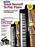 Alfreds Teach Yourself to Play Piano Book & DVD