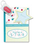 You're a Star: A Pocket Treasure Book Award [With Bookmark with Confetti Inside and Star Magnet]
