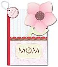 Mom A Pocket Treasure Book for a Dear Mom With Flower Magnet
