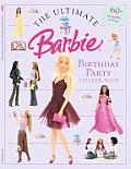 Barbie Birthday Party Sticker Book
