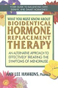 What You Must Know about Bioidentical Hormone Replacement Therapy for Menopause An Alternative Approach to Effectively Treating the Smptoms of Menopa