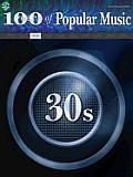 100 Years of Popular Music -- 30s