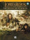 Lord of the Rings Instrumental Solos With CD Audio