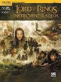 The Lord of the Rings Instrumental Solos: Piano Acc., Book & Online Audio