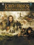 Lord of the Rings Instrumental Solos for Strings Viola with Piano Acc Book & CD With CD Audio
