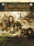 Lord of the Rings Instrumental Solos for Strings Cello with Piano Acc Book & CD With CD Audio