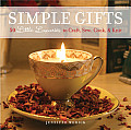 Simple Gifts 50 Little Luxuries to Craft Sew Cook & Knit