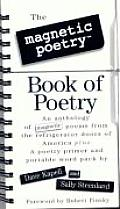 Magnetic Poetry Book of Poetry With 150 Magnetic Poetry Tiles in a Vinyl Pouch