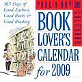 Book Lovers Page A Day Calendar 365 Days of Good Authors Good Books & Good Reading
