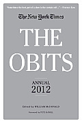 Obits The New York Times Annual 2012