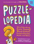 Puzzlelopedia Mind Bending Brain Teasing Anagrams Word Searches Mazes & More