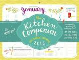 The Kitchen Companion Page-A-Week Calendar 2016