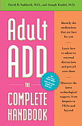 Adult Add The Complete Handbook