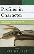 Profiles in Character: Twenty-Six Stories That Will Instruct and Inspire Teenagers
