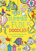 Summer Fun Doodles Sunny Full Color Pictures to Complete & Create