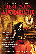 Mammoth Book of Best New Horror 24