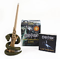 Harry Potter Lord Voldemort's Wand with Sticker Kit [With Book(s) and 8-Inch Light-Up Replica of Lord Voldemort's Wand]