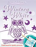 Scratch & Stencil Wintery White
