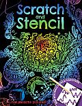 Scratch & Stencil [With Stencils and Black Scratch Paper]
