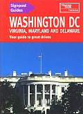 Signpost Guide Washington Dc Virginia
